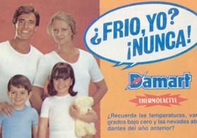 Camisetas Damart Thermolactyl