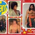 El álbum de cromos Fans salió en 1976