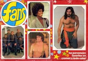 Álbum de cromos Fans 1976