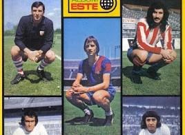 Álbum de la liga de Fútbol 1974/75